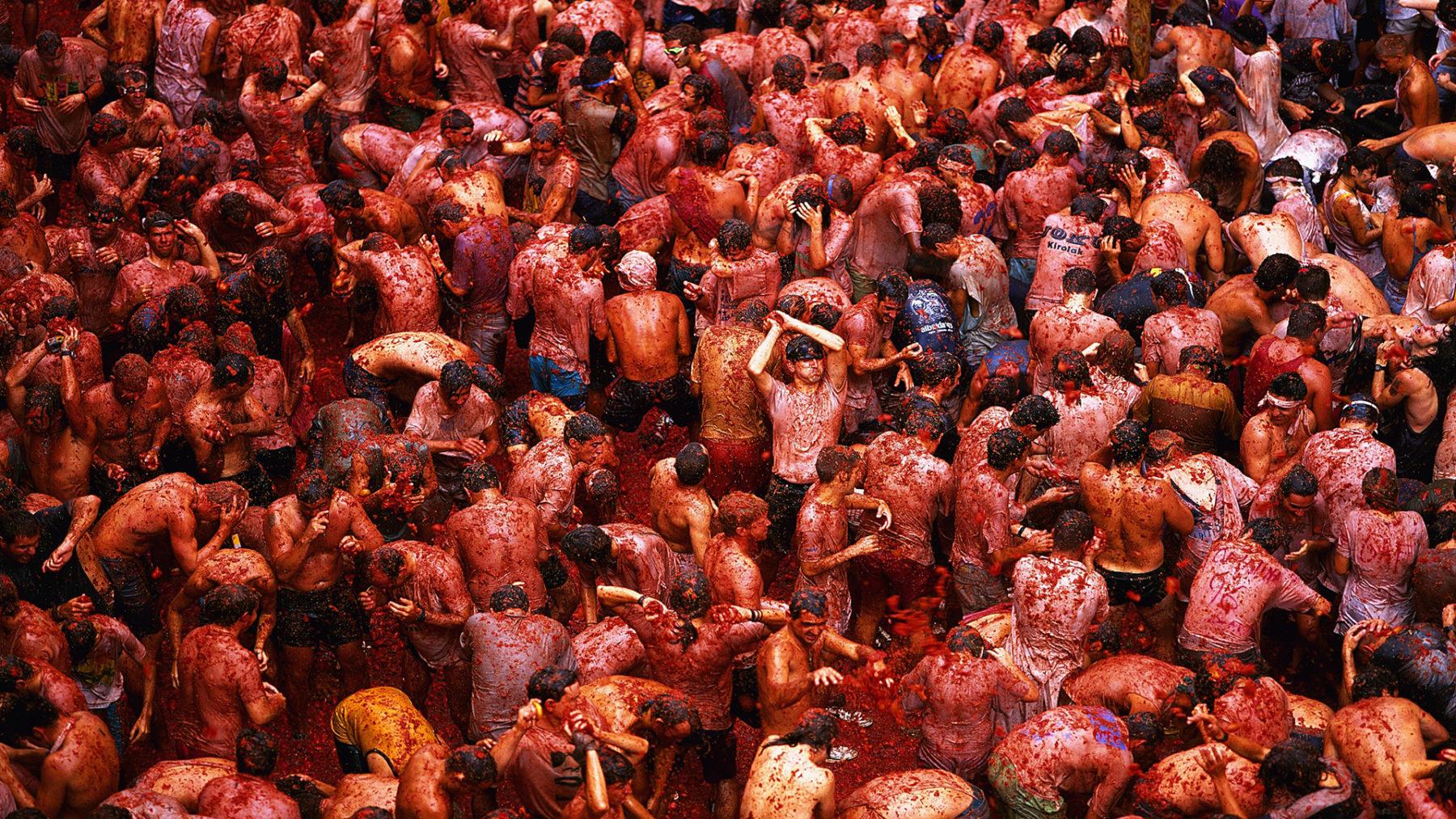 Tomatina - Lễ hội cà chua đặc sắc của Tây Ban Nha.